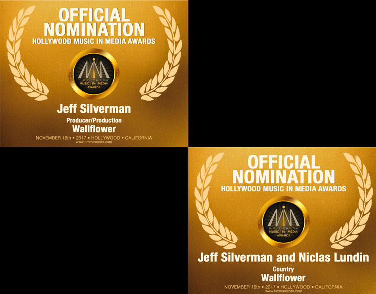Jeff Silverman 2017 HMMA Nominations – Wallflower