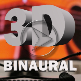 3D Binaural and Stereo Mix Comparisons